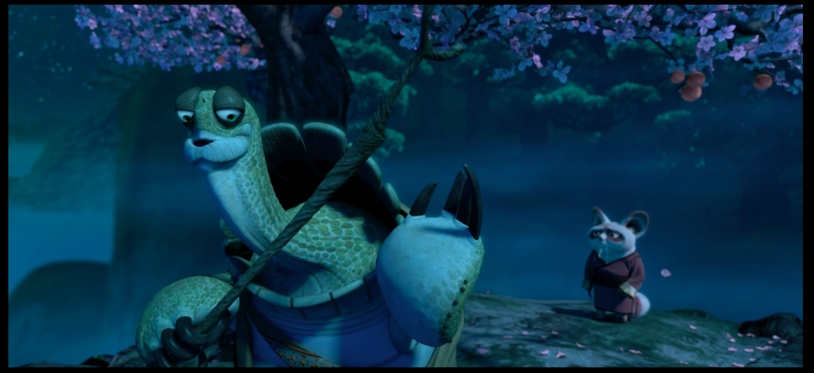 Master Oogway words of wisdom - Order vs Clutter